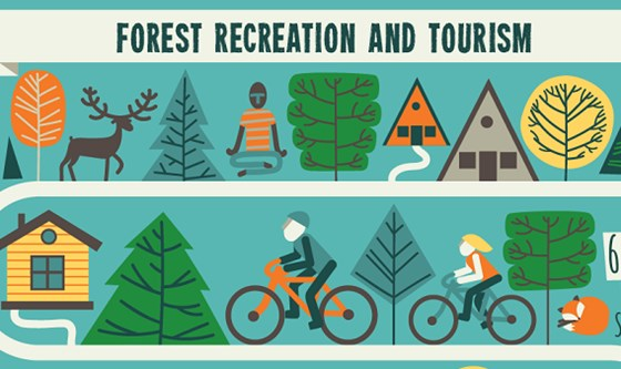 Recreation and Tourism graphic